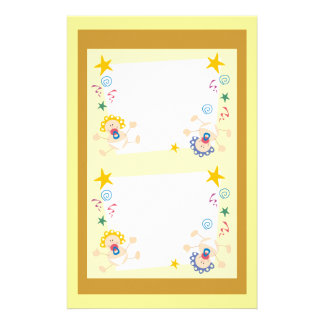 Welcome New Baby Boy or Girl Set Stationery