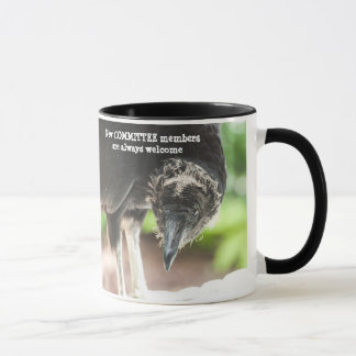 Welcome new committee member ... mug