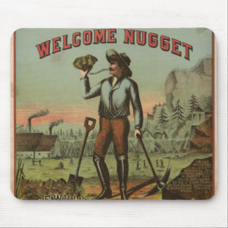 Welcome Nugget-1904 Mousepads