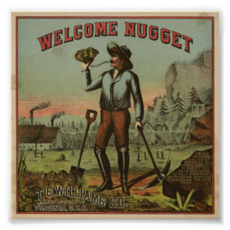 Welcome Nugget-1904 Poster