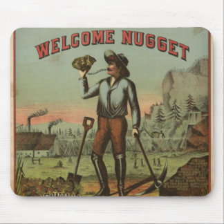 Welcome Nugget Mousepads