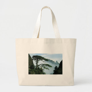 WELCOME pine tree in China Tote Bags