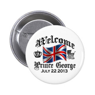 Welcome Prince George July 22 2 Inch Round Button