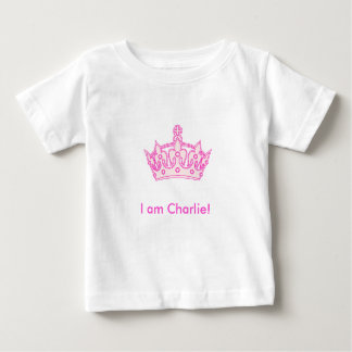 Welcome Princess Charlie! Baby T-Shirt