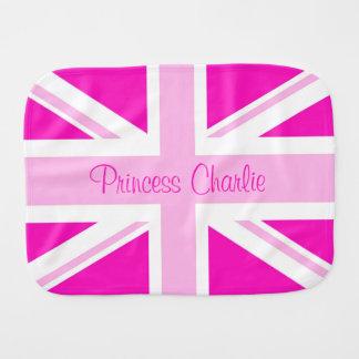 Welcome Princess Charlie! Burp Cloth