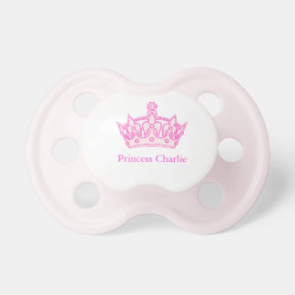 Welcome Princess Charlie! Pacifier