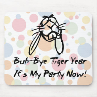Welcome Rabbit Year Mouse Pad