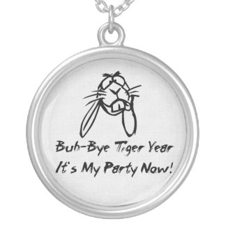 Welcome Rabbit Year Round Pendant Necklace
