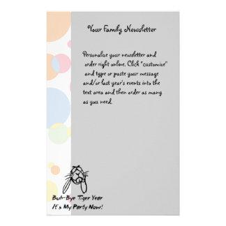 Welcome Rabbit Year Custom Stationery