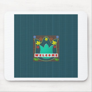 WELCOME Reception Event Management GIFTS Dress Mouse Pad