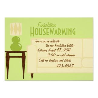 Welcome Room 5x7 Paper Invitation Card
