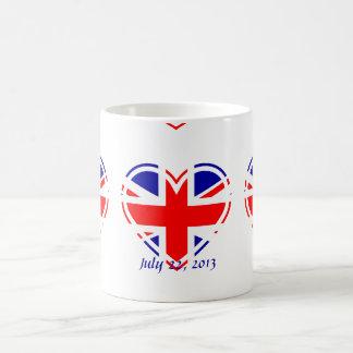 Welcome Royal Baby - Born 2013 Union Jack Flag Mug