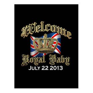 Welcome Royal Baby Keepsake Postcard