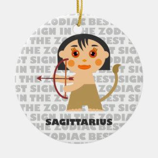 Welcome Sagittarius Zodiac Baby! Ceramic Ornament