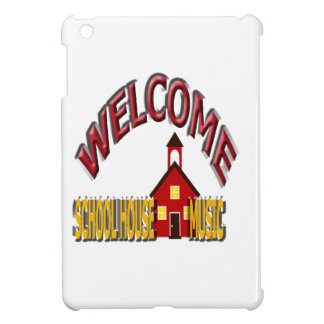 welcome school house music case for the iPad mini