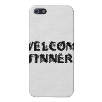 Welcome Sinners! iPhone 5 Cases