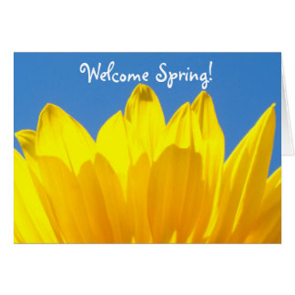Welcome Spring! Card
