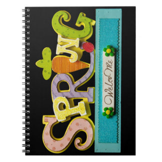 Welcome Spring Notebook