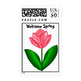 Welcome Spring Postage