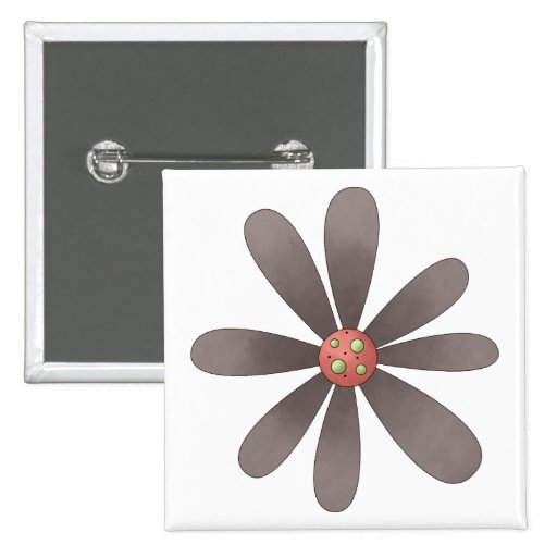 Welcome Spring · Purple Flower Pin