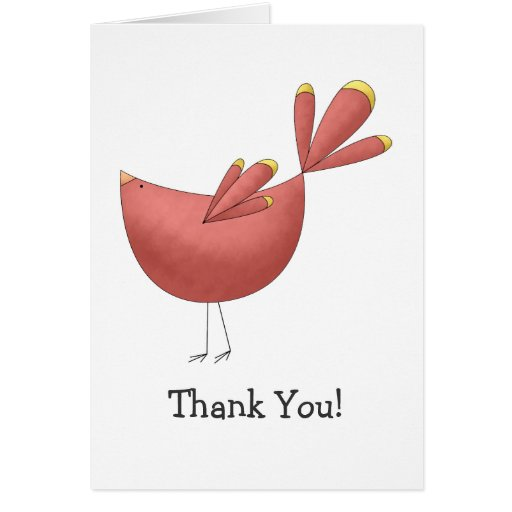 Welcome Spring · Red Bird Card