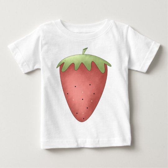 Welcome Spring · Strawberry Baby T-Shirt