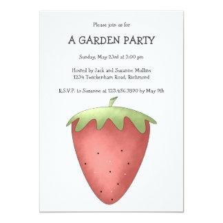 Welcome Spring · Strawberry Invitation