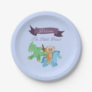 Welcome The Little Prince (Knight) Paper Plate