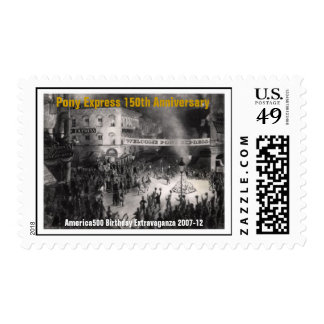 Welcome The Pony Express Postage