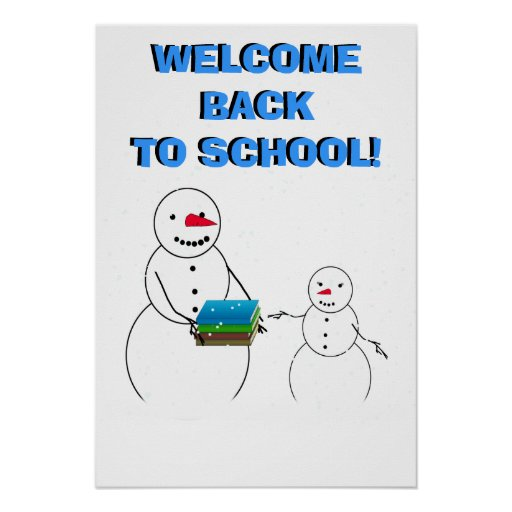 welcome the student u0026 39 s back to school poster