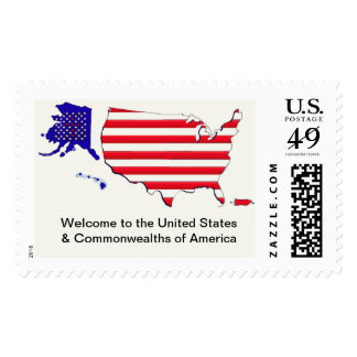 Welcome the United States & Commonwealths postage