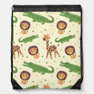Welcome to Africa Drawstring Bag