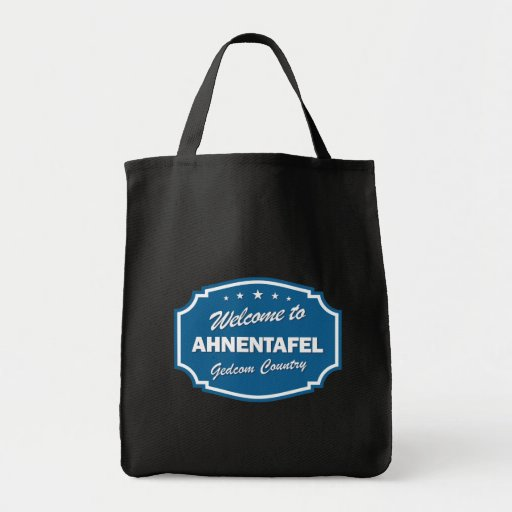 Welcome To Ahnentafel Canvas Bag