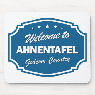 Welcome To Ahnentafel Mouse Pad