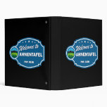 Welcome To Ahnentafel Vinyl Binders