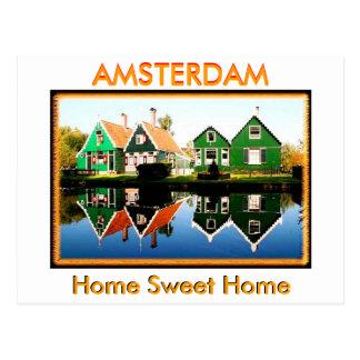 Welcome To Amsterdam(Mojisola A Gbadamosi Okubule) Postcard