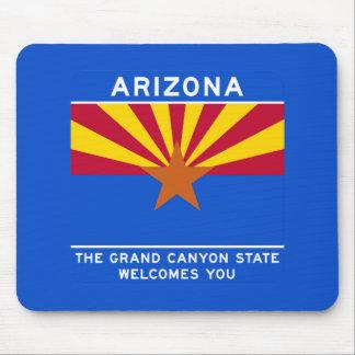 Welcome to Arizona - USA Road Sign Mousepads