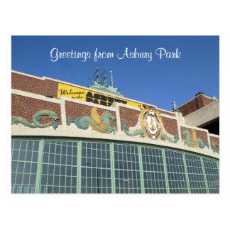 Welcome to Asbury Park NJ Postcard