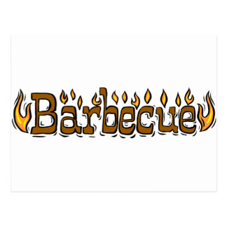 Welcome To Barbecue Postcard