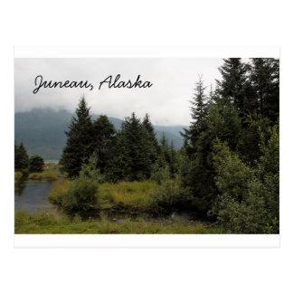 welcome to Beautiful Juneau, Alaska Postcard