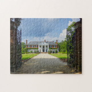 Welcome To Boone Hall Jigsaw Puzzle