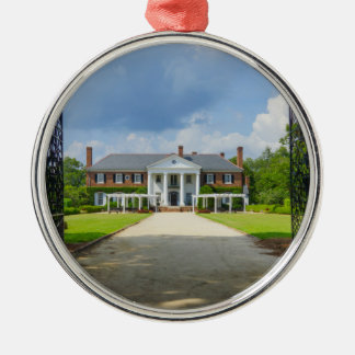 Welcome To Boone Hall Metal Ornament