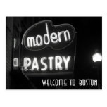Welcome To Boston - neon noir Postcard