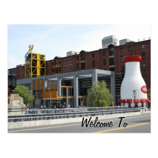 Welcome To Boston Post Cards