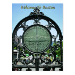 Welcome To Boston Postcards