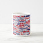 Welcome to Boston Wordle Mug