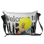 Welcome to Cal Large Messenger Bag Courier Bag