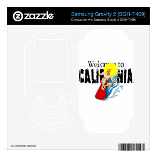 Welcome to Cal Samsung Gravity 2 Skin