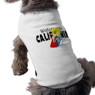 Welcome to California Dog Shirt