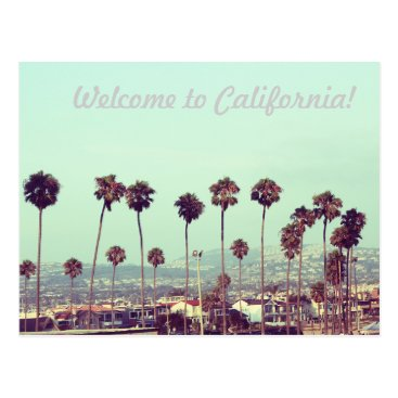 TraPhotography Welcome to California! Postcard